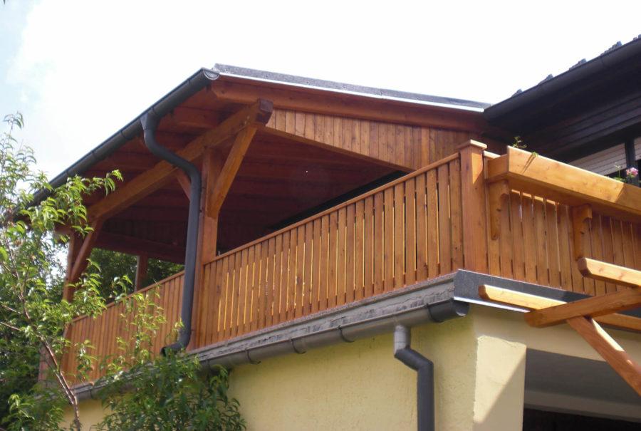 Fabulous Balkone - Zimmerei Walther Pensold - Zimmerei & Palettenbau UC13